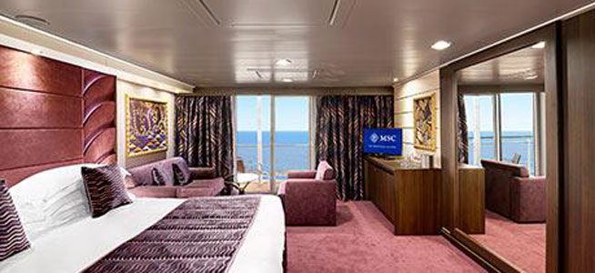 Yacht Club Deluxe Suite with Balcony