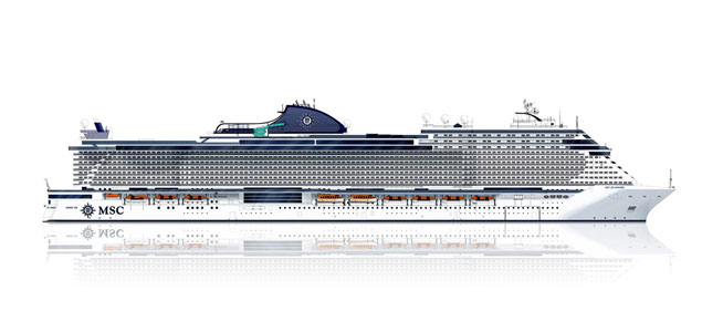 MSC Seashore is the first of the new Seaside Evo-class offering groundbreaking and pioneering design