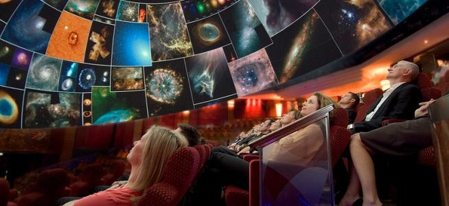 The Planetarium aboard Queen Mary 2