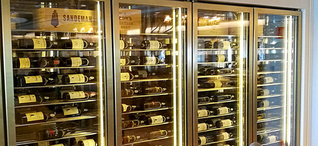 The Carinthia Lounge also boasts the largest port collection at sea