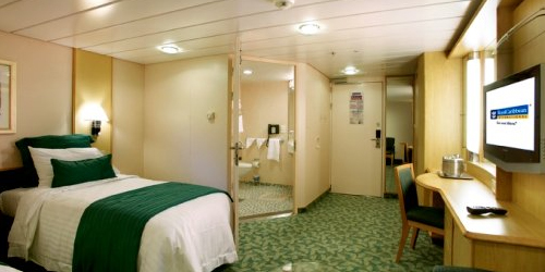 Guaranteed Interior Stateroom (no promotional benefits)