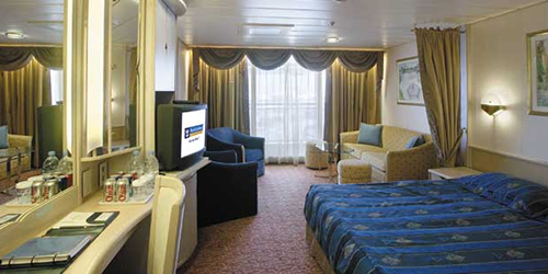 Guaranteed Ocean View Stateroom (no promotional benefits)